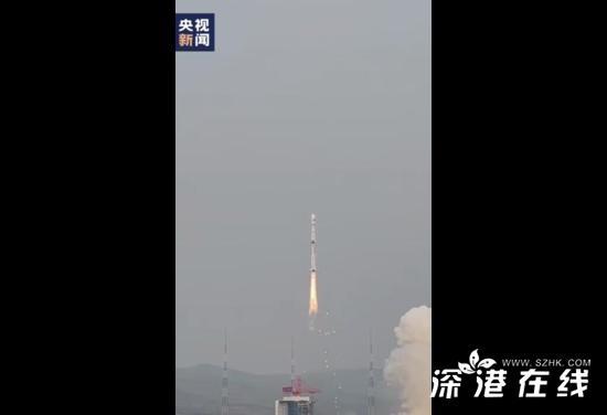 我国成功发射试验六号03星 这已是该系列火箭的第365次飞行
