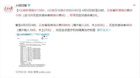 云南新增15例确诊病例 患者目前是什么情况?