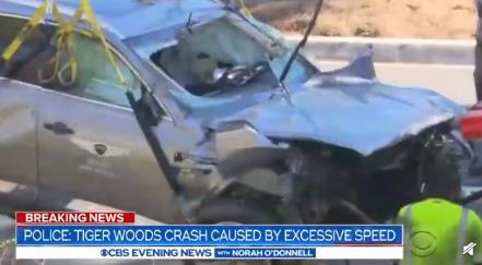 伍兹车祸原因曝光 具体是怎么回事?