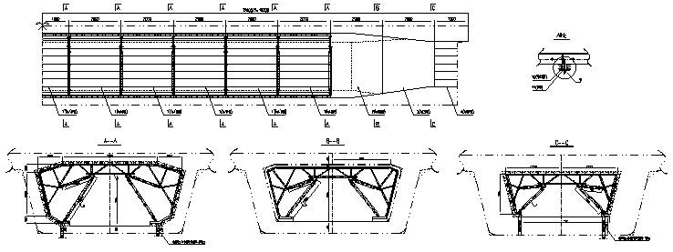 移动模架制梁专项施组施工方案dsz32m/900t上行自行式图片
