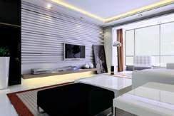 家庭客厅装修效果图1