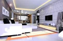 家庭客厅装修效果图2