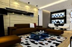 家庭客厅装修效果图5