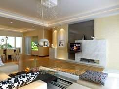 家庭客厅装修效果图7