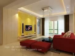 家庭客厅装修效果图9