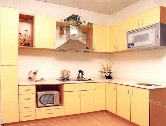 家庭厨房装修效果图3
