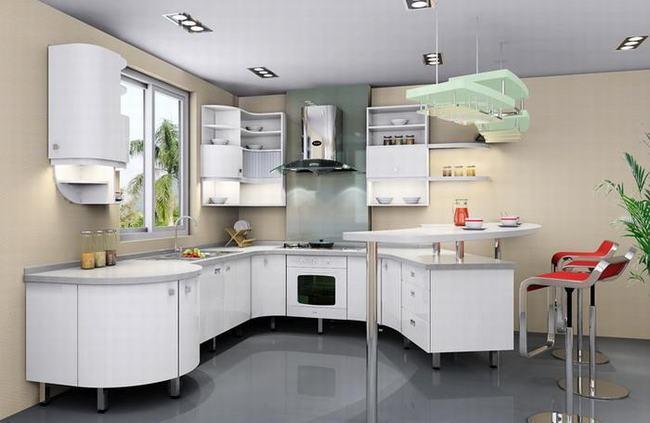 家庭厨房装修效果图6