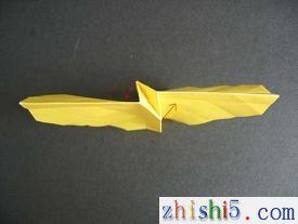 纸玫瑰的折法及步骤12