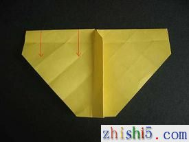 纸玫瑰的折法
