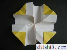 纸玫瑰的折法,如何折纸玫瑰