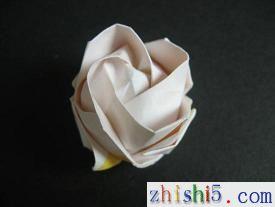 纸玫瑰的折法 如何折纸玫瑰