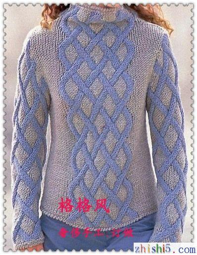 毛衣编织花样图解2