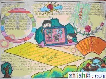 小学生环保手抄报(图片)