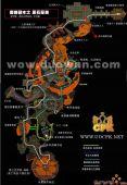 魔兽世界黑石深渊地图